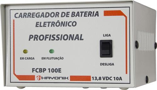 Carregador de baterias eletrônico hayonik 10A