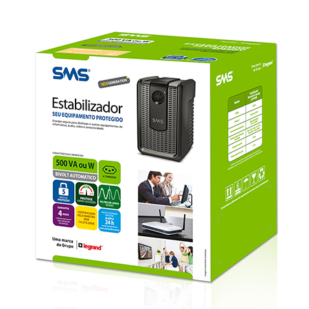 ESTABILIZADOR REVOLUTION SPEEDY NEW GENERATION 500VA BI