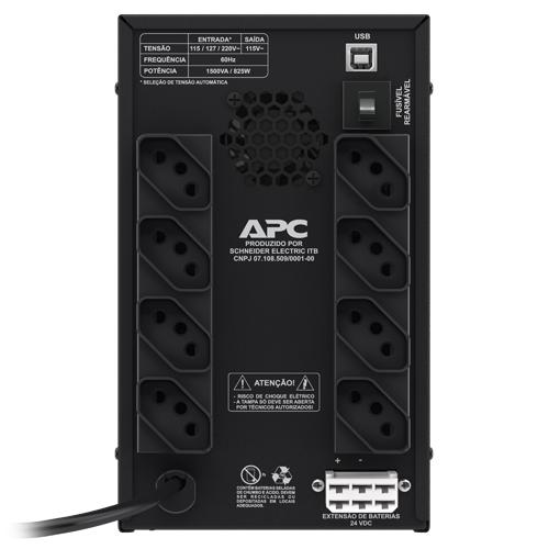 NOBREAK APC BACK-UPS 1500VA BI-115 - BZ1500-BR