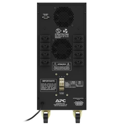 NoBreak APC Smart-UPS BR 3000VA, BI 115V/220V SUA3000BI-BR