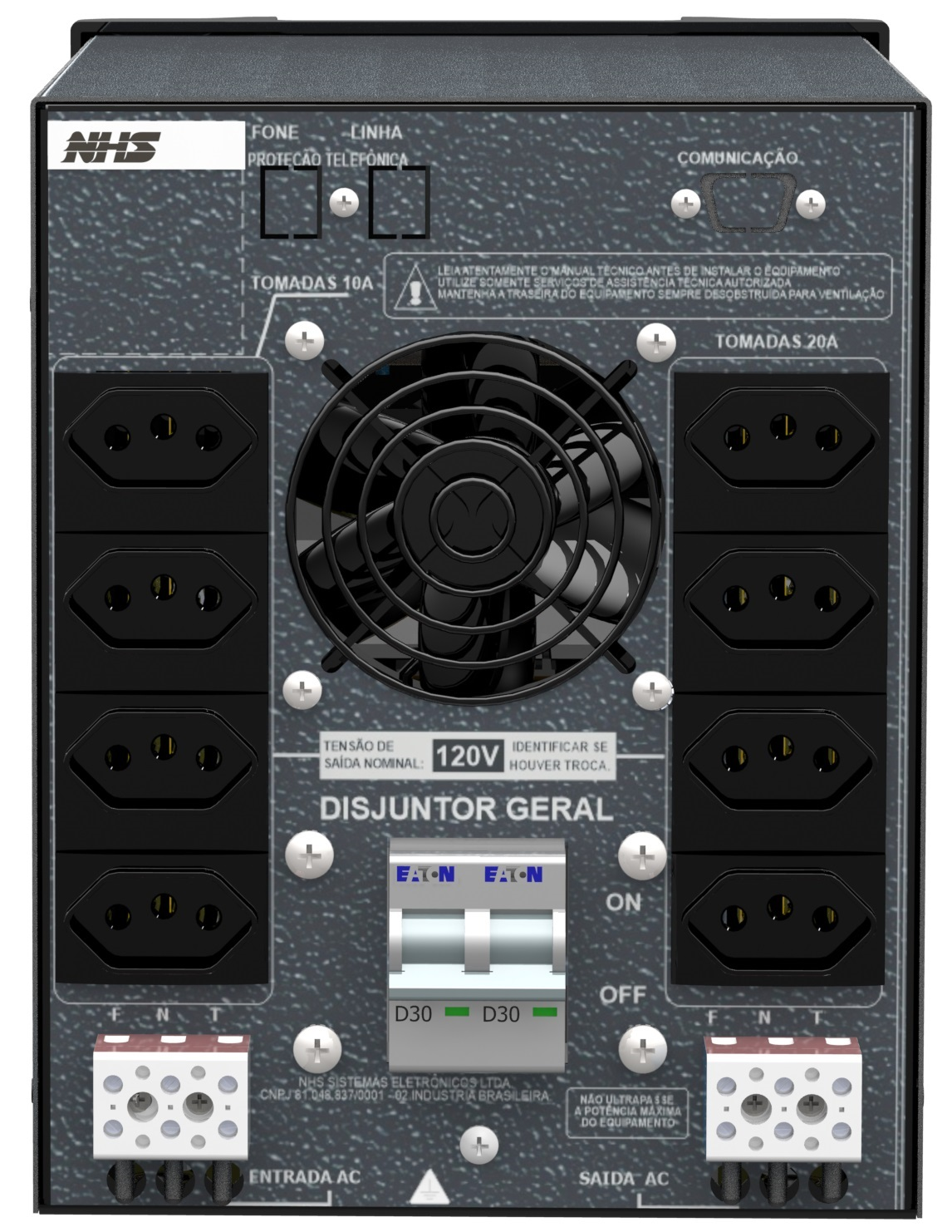ESTABILIZADOR EV PLUS DSP 3100VA - NHS