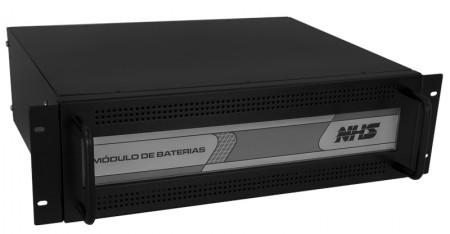 Módulo de baterias Rack 3U 8x9Ah Selada- NHS 48V