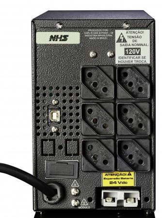 NOBREAK COMPACT SENOIDAL MAX usb/Engate rapido 1400VA-NHS