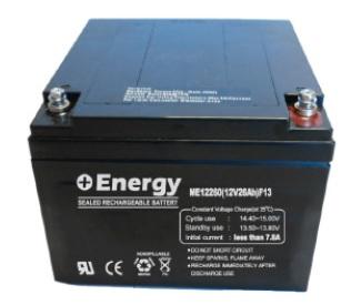 Bateria Selada ENERGY 12V 26Ah-VRLA