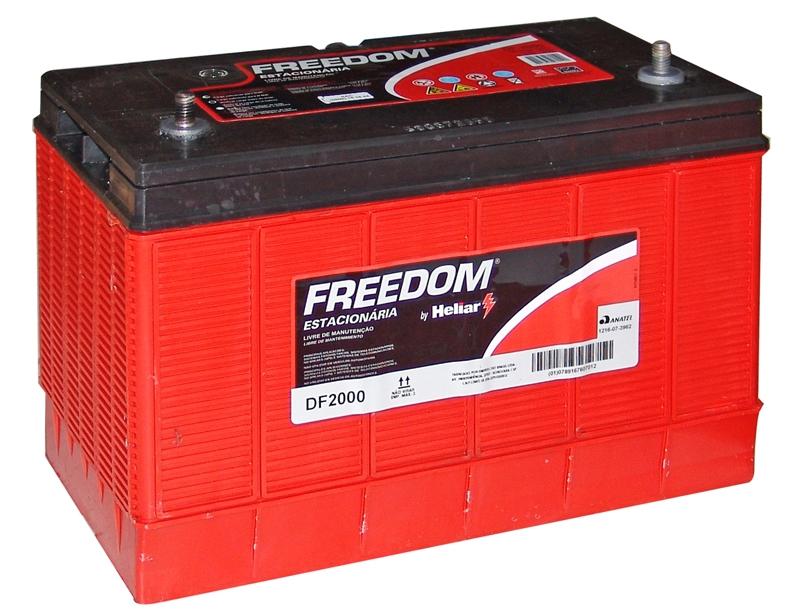 Bateria Freedom DF-2000 12V 105Ah Estacionária