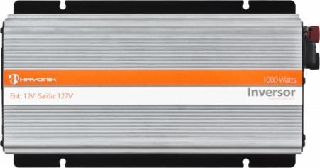 INVERSOR ONDA MODIFICADA 12VDC/127V USB 1000W - HAYONIK