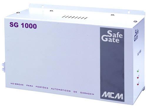 Nobreak SG 1000 para portão automático MCM
