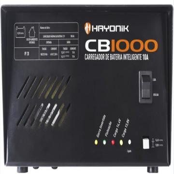 CARREGADOR DE BATERIA INTELIGENTE 10A  CB1000  - HAYONIK